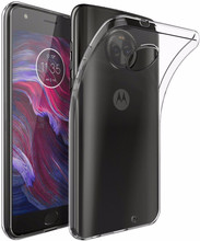 Just in Case Soft TPU Moto X4 Back Cover Transparant