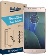 Just in Case Moto G5S Plus Screenprotector Gehard Glas