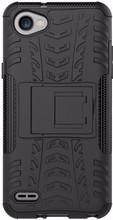 Just in Case Rugged Hybrid LG Q6 Back Cover Zwart
