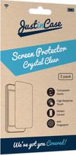 Just in Case Wiko View Screenprotector Plastic Triple Pack