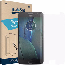 Just in Case Motorola Moto G5S Screenprotector Gehard Glas