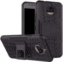 Just in Case Rugged Hybrid Moto G5S Plus Back Cover Zwart
