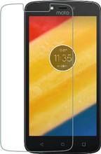 Azuri Gehard Glas Moto C Plus Screenprotector Glas Duo Pack