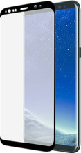 Azuri Galaxy S8 Screenprotector Curved Gehard Glas Duo Pack