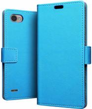 Just in Case Wallet LG Q6 Book Case Blauw