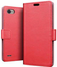 Just in Case Wallet LG Q6 Book Case Rood