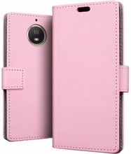 Just in Case Wallet Moto G5S Plus Book Case Roze