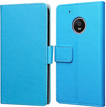 Just in Case Wallet Moto G5S Book Case Blauw