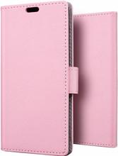 Just in Case Wallet Moto X4 Book Case Roze