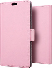 Just in Case Wallet Xperia XZ1 Book Case Roze