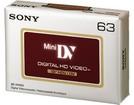 Sony DVM 63 HDV Mini-DV Tape