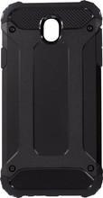 Mobiparts Rugged Shield Galaxy J7 (2017) Back Cover Zwart