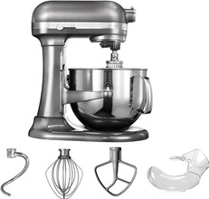 KitchenAid Artisan Mixer 5KSM7580XEMS Bowl-Lift Tin Grijs