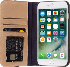 Decoded Leather Wallet iPhone 6+/6s+/7+/8+ Book Case Beige