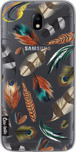 Casetastic Softcover Samsung Galaxy J7 (2017) Feathers Multi