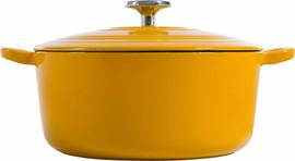 BK Bourgogne Braadpan 28 cm Sunset Yellow