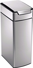 Simplehuman Rectangular Slim Touch 40 Liter