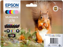 Epson 378 6-Kleuren Pack (C13T37884010)