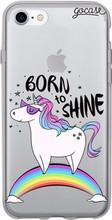 GoCase TPU iPhone 7/8 Back Cover Born to Shine