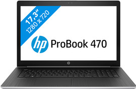 HP ProBook 470 G5  i5-8gb-256ssd (HD scherm) - Azerty