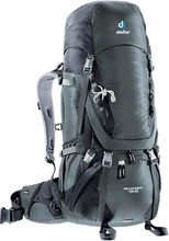 Deuter  Aircontact 45 + 10 granite/black