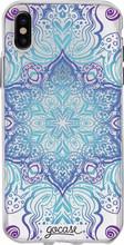 GoCase TPU iPhone X Back Cover Flower Mandala