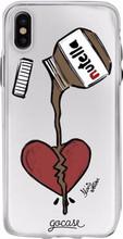 GoCase TPU iPhone X Back Cover Nutella