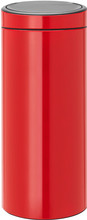 Brabantia Touch Bin 30 Liter Passion Red