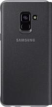 Samsung Galaxy A8 Neon Flip Cover Zwart