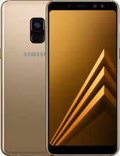 Samsung Galaxy A8 (2018) Goud BE