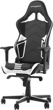 DX Racer RACING PRO Gaming Chair Zwart/Wit