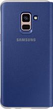 Samsung Galaxy A8 Neon Flip Cover Blauw