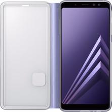 Samsung Galaxy A8 Neon Flip Cover Paars