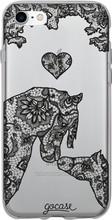 GoCase TPU iPhone 7/8 Back Cover Lace Horses