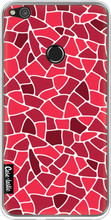 Casetastic Softcover P8 Lite (2017) Red Mosaic