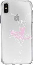 GoCase TPU iPhone X Back Cover Ballerina