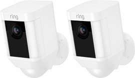 Ring Spotlight Cam Battery Wit Duopack