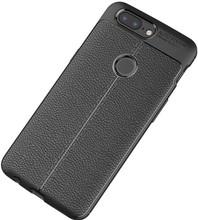 Just in Case Soft Design TPU OnePlus 5T Back Cover Zwart