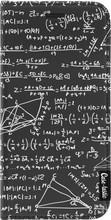 Casetastic Wallet A5 (2017) Book Case You Do The Math Zwart