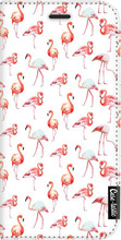 Casetastic Wallet A5 (2017) Book Case Flamingo Party Wit
