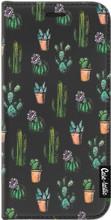 Casetastic Wallet A3 (2017) Book Case Cactus Dream Zwart