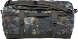The North Face Base Camp Duffel S Green Tropical Camo/Taupe