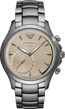 Emporio Armani Connected Beige/Zilver