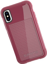 Griffin Survivor Fit iPhone X Back Cover Rood