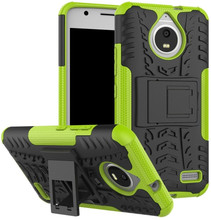 Just in Case Rugged Hybrid Moto E4 Back Cover Groen