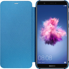 Huawei P Smart Flip Cover Book Case Blauw
