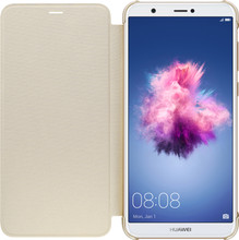 Huawei P Smart Flip Cover Book Case Goud