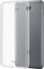 Azuri Glossy TPU Huawei Y7 (2017) Back Cover Transparant