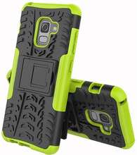 Just in Case Rugged Hybrid A8 2018 Back Cover Groen