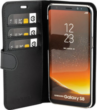 Valenta Classic Luxe Galaxy S8 Book Case Zwart